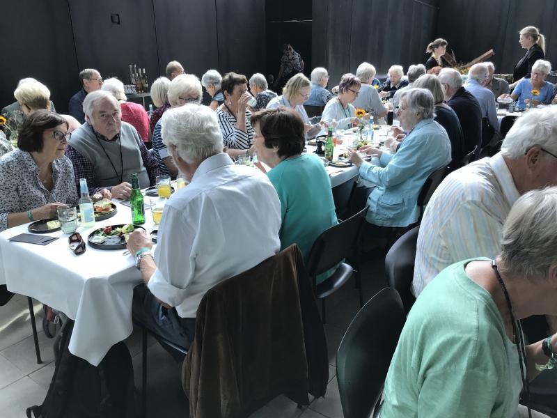 Frokost på Tirpitz museet 5.9.18